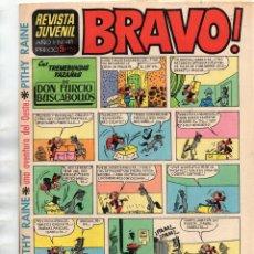 Tebeos: BRAVO! AÑO 1 Nº 41 - PITHY RAINE UNA AVENTURA EN EL OESTE. Lote 167866512