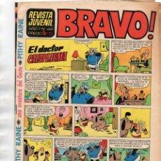 Tebeos: BRAVO! AÑO 1 Nº 42 CON PITHY RAINE. Lote 167869948