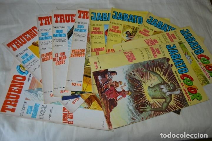ORIGINAL, AVENTURAS JABATO Y CAPITÁN TRUENO - EDITORIAL BRUGUERA S.A. - 10 NÚM / EJEMPLARES AÑOS 70 (Tebeos y Comics - Bruguera - Capitán Trueno)