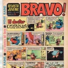Tebeos: BRAVO! AÑO 1 Nº 43 - PITHY RAINE UNA AVENTURA EN EL OESTE . Lote 167956168