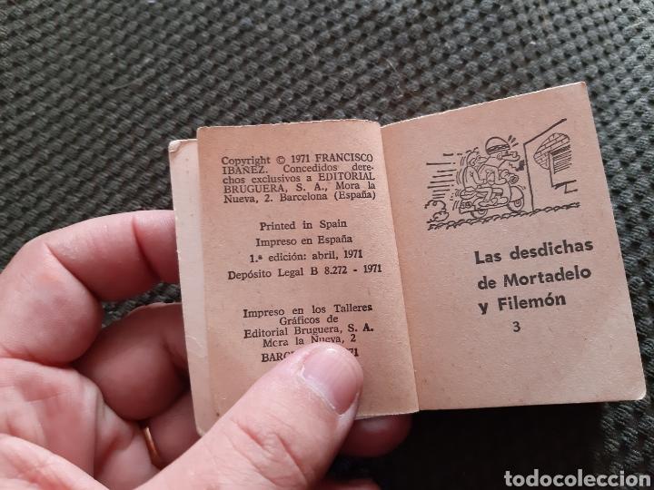 Tebeos: LAS DESDICHAS MORTADELO FILEMON MINI INFANCIA PRIMERA EDICIÓN ABRIL 1971 - Foto 2 - 167976290