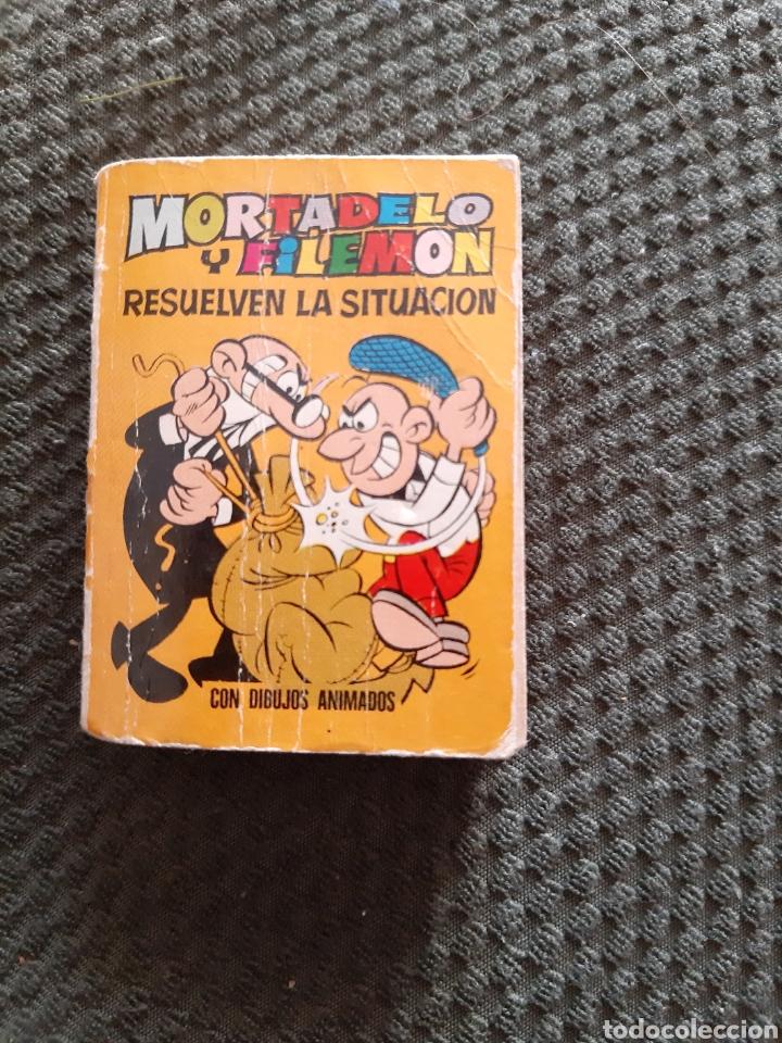 MORTADELO Y FILEMON RESUELVEN LA SITUACION PRIMERA EDICIÓN 1971 MINI INFANCIA (Tebeos y Comics - Bruguera - Otros)
