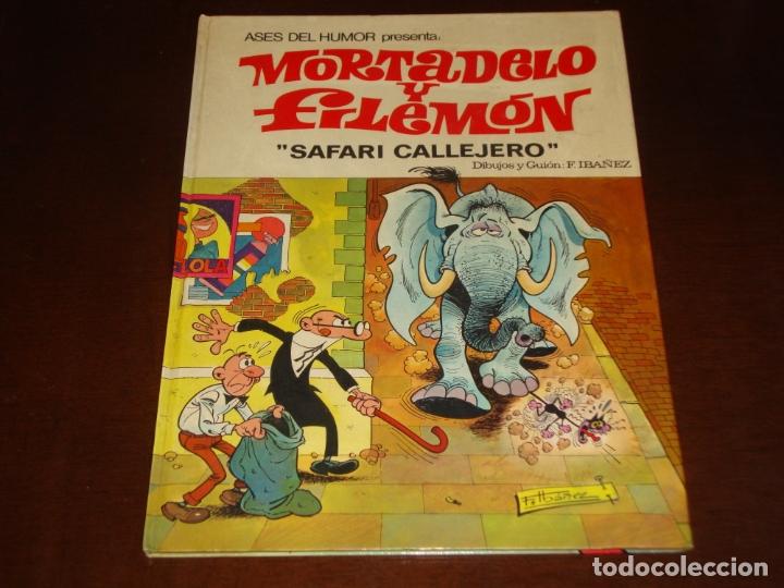 ASES DEL HUMOR MORTADELO Y FILEMON SAFARI CALLEJERO SE 2ª SEGUNDA EDICIÓN (Tebeos y Comics - Bruguera - Mortadelo)