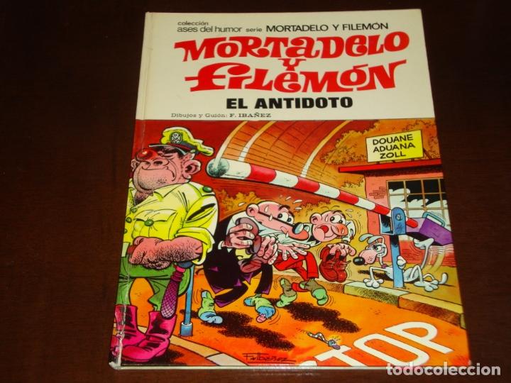 ASES DEL HUMOR MORTADELO Y FILEMON EL ANTIDOTO 1974 BUEN ESTADO (Tebeos y Comics - Bruguera - Mortadelo)