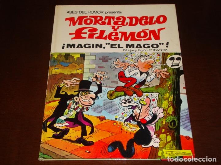 ASES DEL HUMOR MORTADELO Y FILEMON MAGIN EL MAGO 1971 BUEN ESTADO (Tebeos y Comics - Bruguera - Mortadelo)