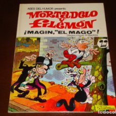 Tebeos: ASES DEL HUMOR MORTADELO Y FILEMON MAGIN EL MAGO 1971 BUEN ESTADO. Lote 167992164