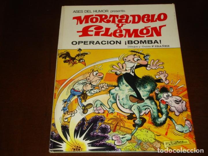 ASES DEL HUMOR MORTADELO Y FILEMON OPERACION BOMBA 1972 BUEN ESTADO (Tebeos y Comics - Bruguera - Mortadelo)