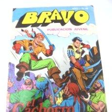 Tebeos: TEBEO. BRAVO AÑO I. Nº 49. PUBLICACION JUVENIL. EL CACHORRO. Nº 25. MISTERIOS EN LA ISLA. Lote 168153000