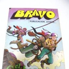Tebeos: TEBEO. BRAVO AÑO I. Nº 5. PUBLICACION JUVENIL. EL CACHORRO. Nº 3. LOS AGUILAS NEGRAS. Lote 168153076