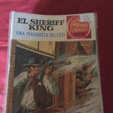 Tebeos: BRUGUERA GRANDES AVENTURAS JUVENILES SHERIFF KING NUMERO 31 NORMAL ESTADO. Lote 168161792