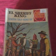 Tebeos: BRUGUERA GRANDES AVENTURAS JUVENILES SHERIFF KING NUMERO 24 NORMAL ESTADO. Lote 168162080