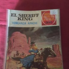 Tebeos: BRUGUERA GRANDES AVENTURAS JUVENILES SHERIFF KING NUMERO 12 NORMAL ESTADO. Lote 168163080