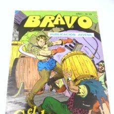 Tebeos: TEBEO. BRAVO AÑO I. Nº 73. PUBLICACION JUVENIL. EL CACHORRO. Nº 37. SIETE LATIGOS. Lote 168163148