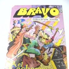 Tebeos: TEBEO. BRAVO AÑO I. Nº 17. PUBLICACION JUVENIL. EL CACHORRO. Nº 9. JAQUE MATE A LOS PIRATAS. Lote 168166192