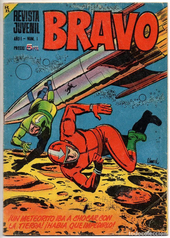 Tebeos: BRAVO nº 1, 6, 9, 17, 27, 29, 35, 37, 38, 41 y 42 (Bruguera 1968) - Foto 2 - 150616206