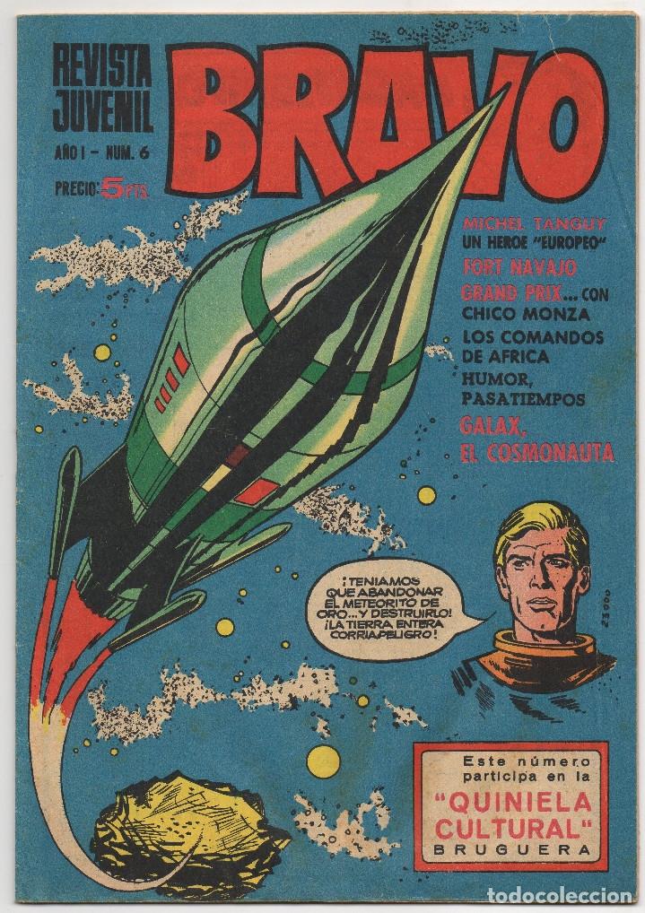 Tebeos: BRAVO nº 1, 6, 9, 17, 27, 29, 35, 37, 38, 41 y 42 (Bruguera 1968) - Foto 4 - 150616206