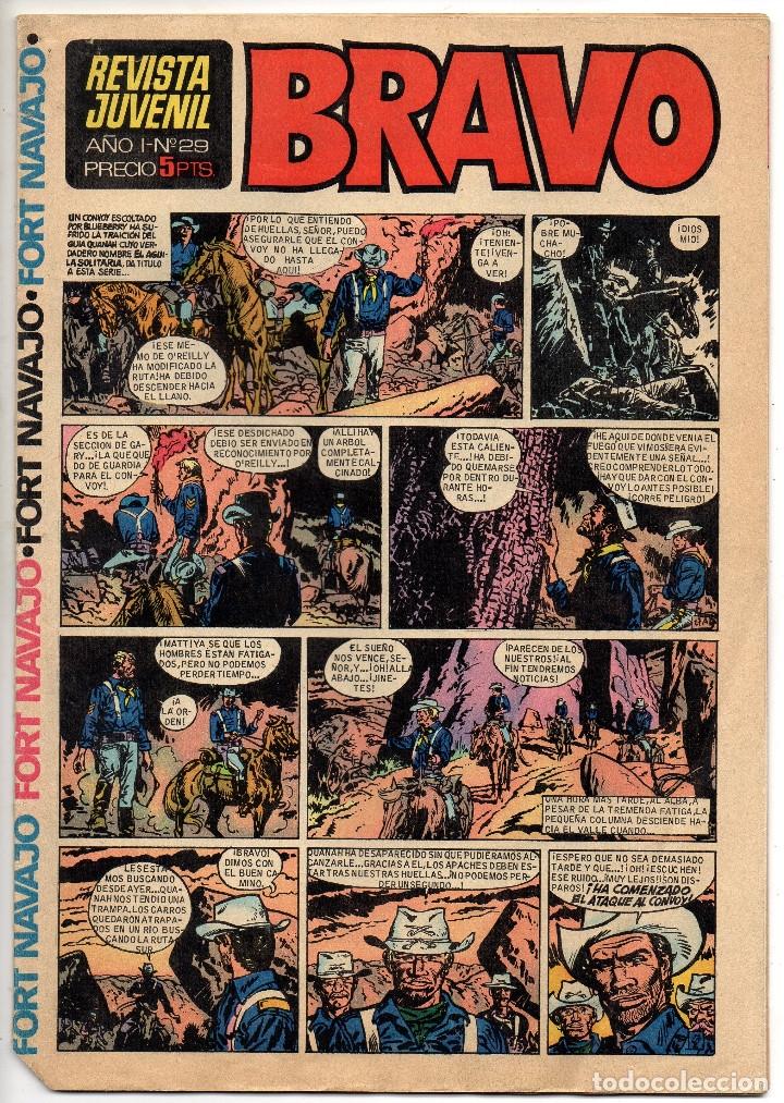 Tebeos: BRAVO nº 1, 6, 9, 17, 27, 29, 35, 37, 38, 41 y 42 (Bruguera 1968) - Foto 12 - 150616206