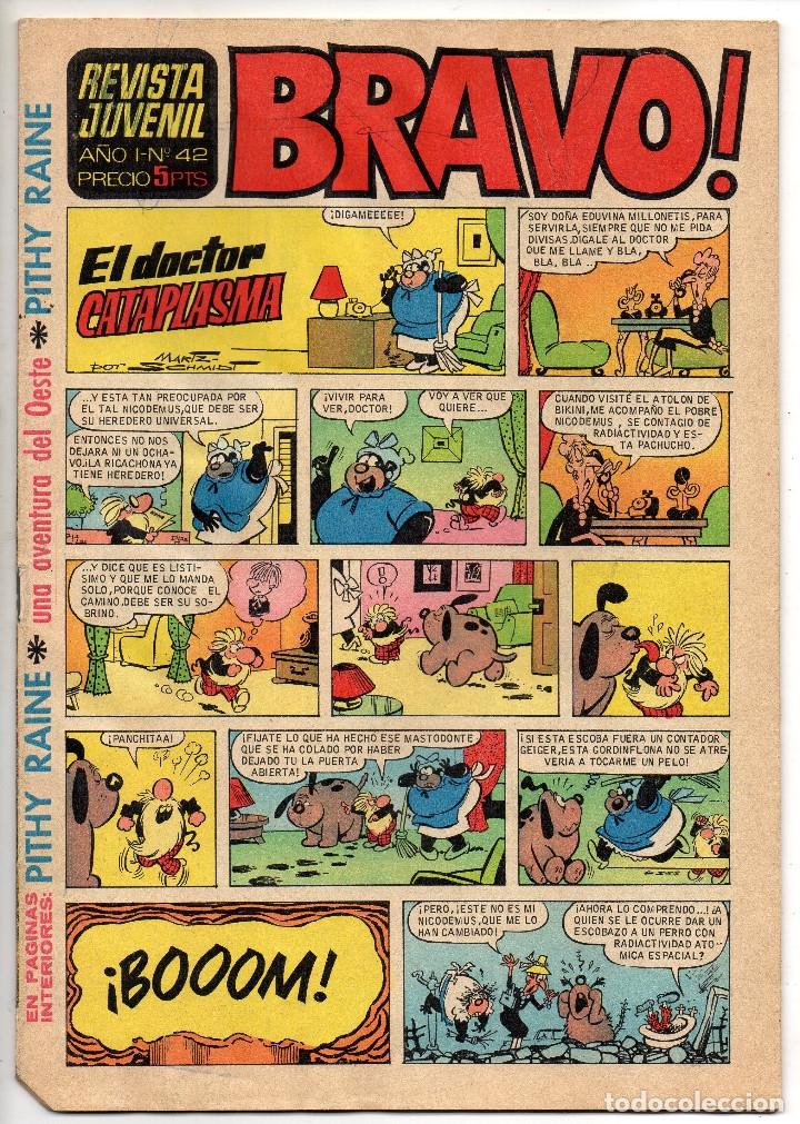 Tebeos: BRAVO nº 1, 6, 9, 17, 27, 29, 35, 37, 38, 41 y 42 (Bruguera 1968) - Foto 22 - 150616206