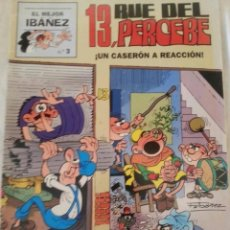 Tebeos: EL MEJOR IBAÑEZ 3 - 13 RUE DEL PERCEBE. Lote 168207428