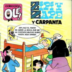 Tebeos - OLÉ Nº 255 Z. 144 ZIPI Y ZAPE Y CARPANTA (1991) - 168323848