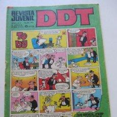 Tebeos: DDT 3ª ÉPOCA. Nº 216 CON BILLETES DE MORTADELO. BRUGUERA ...C28X2. Lote 168328044