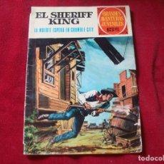 Tebeos: EL SHERIFF KING Nº 16 GRANDES AVENTURAS JUVENILES DE BRUGUERA 1972. Lote 168340432