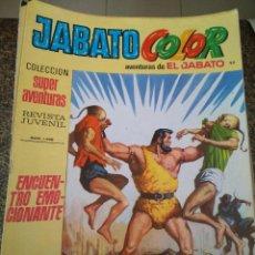 Tebeos: JABATO COLOR -- Nº 92 -- COLECCION SUPER AVENTURAS Nº 1788 -- SEGUNDA EPOCA --. Lote 168424794