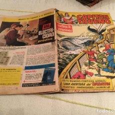 Tebeos: EL CAPITAN TRUENO EXTRA DE VACACIONES 1963 CAUTIVOS DEL CADIR. Lote 168434064