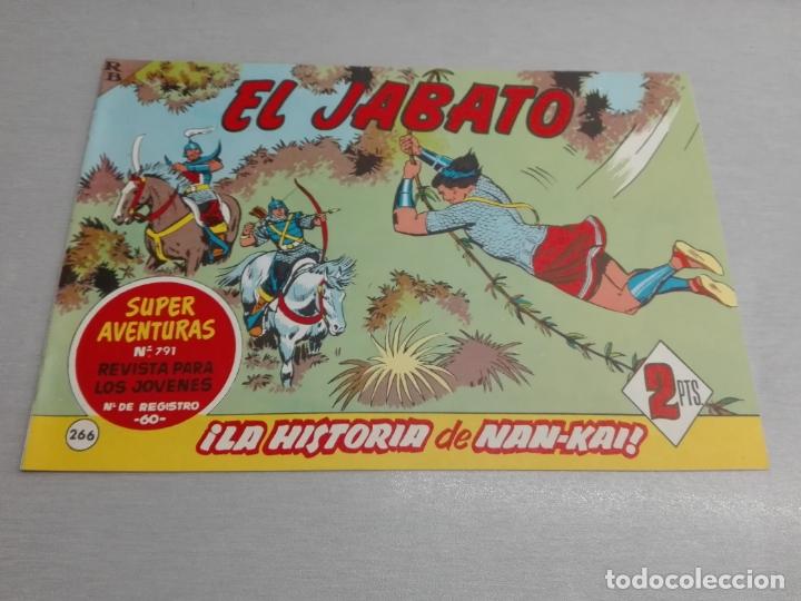 EL JABATO Nº 266 / EDICIONES B - REEDICIÓN (Tebeos y Comics - Bruguera - Jabato)