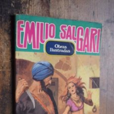 Tebeos: OBRAS ILUSTRADAS Nº 4 EMILIO SALGARI, BRUGUERA, 1983. Lote 168550832