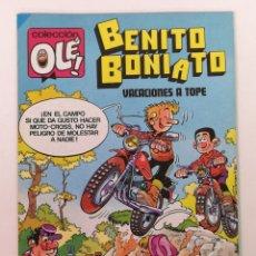 Tebeos: BENITO BONIATO N°7,OLE EDT BRUGUERA. Lote 168578712