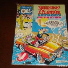 Tebeos: OLE MORTADELO Y FILEMON EL BOTONES SACARINO Y SIR TIM O'THEO Nº 166 PRIMERA EDICION 1978. Lote 168638484