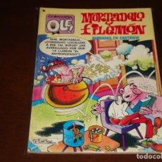 Tebeos: OLE ! MORTADELO Y FILEMON Nº 161 BURRADAS EN CANTIDUVI . PRIMERA EDICION BRUGUERA 1978. Lote 168639552