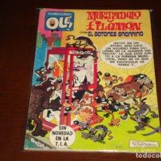 Tebeos: OLE ! MORTADELO Y FILEMON Nº 203 EL BOTONES SACARINO . PRIMERA EDICION BRUGUERA 1980. Lote 168640512