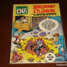 Tebeos: OLE ! MORTADELO Y FILEMON Nº 205 EL BOTONES SACARINO . PRIMERA EDICION BRUGUERA 1980. Lote 168640744