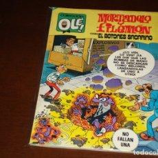 Tebeos: OLE ! 205 MORTADELO Y FILEMON CON EL BOTONES SACARINO . PRIMERA EDICION BRUGUERA 1980. Lote 168641276