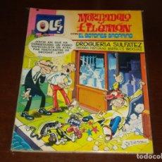 Tebeos: OLE ! 164 MORTADELO Y FILEMON CON EL BOTONES SACARINO . PRIMERA EDICION BRUGUERA 1978. Lote 168641492