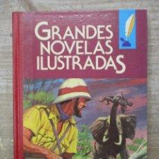 Tebeos: GRANDES NOVELAS ILUSTRADAS - VOLUMEN II - Nº 2 - BRUGUERA - 1ª EDICION. Lote 168742976