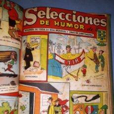 Tebeos: VOLUMEN ENCUADERNADO DDT 2 PTAS AÑOS 50 EDITORIAL BRUGUERA VER FOTOS Y DESCRIPCION. Lote 168835644