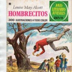 Tebeos: HOMBRECITOS - LOUISE MAY ALCOTT - JOYAS LITERARIAS 1978. Lote 168837064