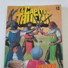 Tebeos: EL CAPITÁN TRUENO SELECCIÓN EDICIÓN HISTÓRICA NÚMERO 13 RETAPADO. Lote 168845948