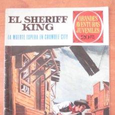 Tebeos: SHERIFF KING. LA MUERTE ESPERA EN CRUMBLE CITY. VICTOR MORA. FRANCISCO DÍAZ. BRUGUERA. GAJ Nº 16.. Lote 169030052