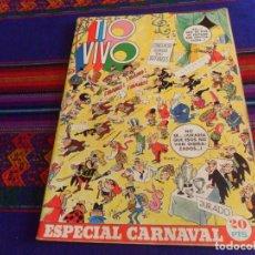 Tebeos: TIO VIVO ESPECIAL CARNAVAL 1974. BRUGUERA 20 PTS. . Lote 169104652