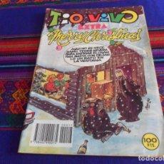 Livros de Banda Desenhada: TIO VIVO EXTRA NAVIDAD 1982 MERRY CHRISTMAS. BRUGUERA 100 PTS. BUEN ESTADO.. Lote 169108024