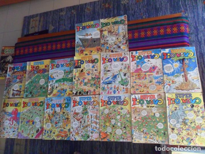 SUPER TIO VIVO NºS 7 20 28 29 41. BRUGUERA 1972 16 PTS REGALO 10 19 (Tebeos y Comics - Bruguera - Tio Vivo)