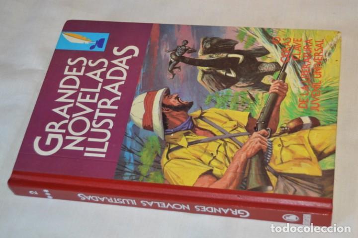 TOMO GRANDES NOVELAS ILUSTRADAS - NÚM. 02 - BUEN ESTADO - 1ª EDICIÓN - MAYO 1984 - ¡MIRA! (Tebeos y Comics - Bruguera - Joyas Literarias)