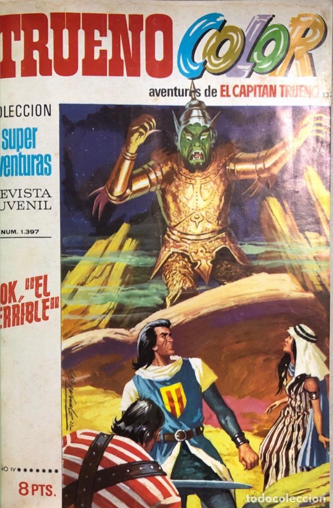 CAPITAN TRUENO. REVISTA JUVENIL. BRUGUERA. LOTE DE 23 EJEMPLARES. ENCUADERNADO. AÑO IV. LEER (Tebeos y Comics - Bruguera - Capitán Trueno)