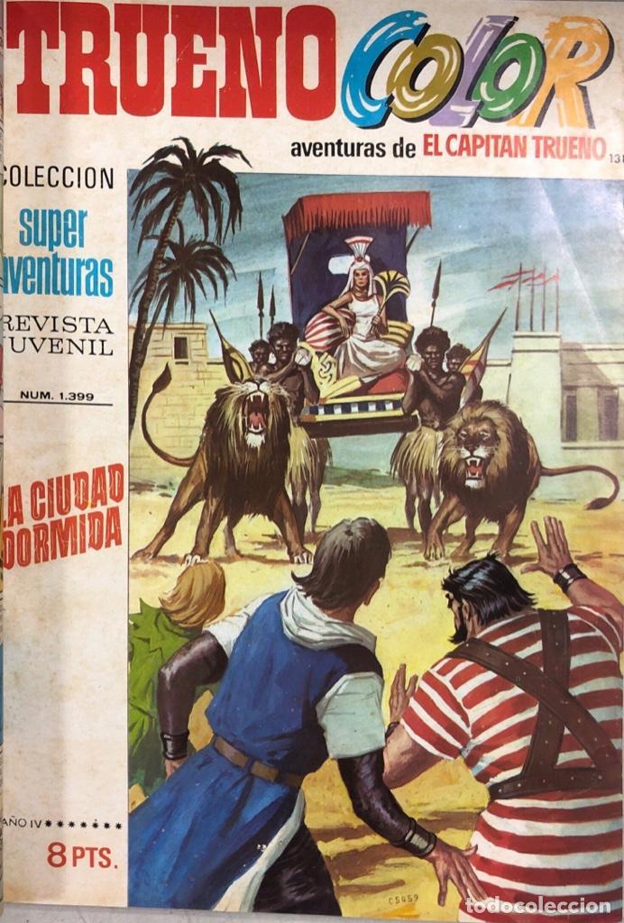 Tebeos: CAPITAN TRUENO. REVISTA JUVENIL. BRUGUERA. LOTE DE 23 EJEMPLARES. ENCUADERNADO. AÑO IV. LEER - Foto 3 - 169287652