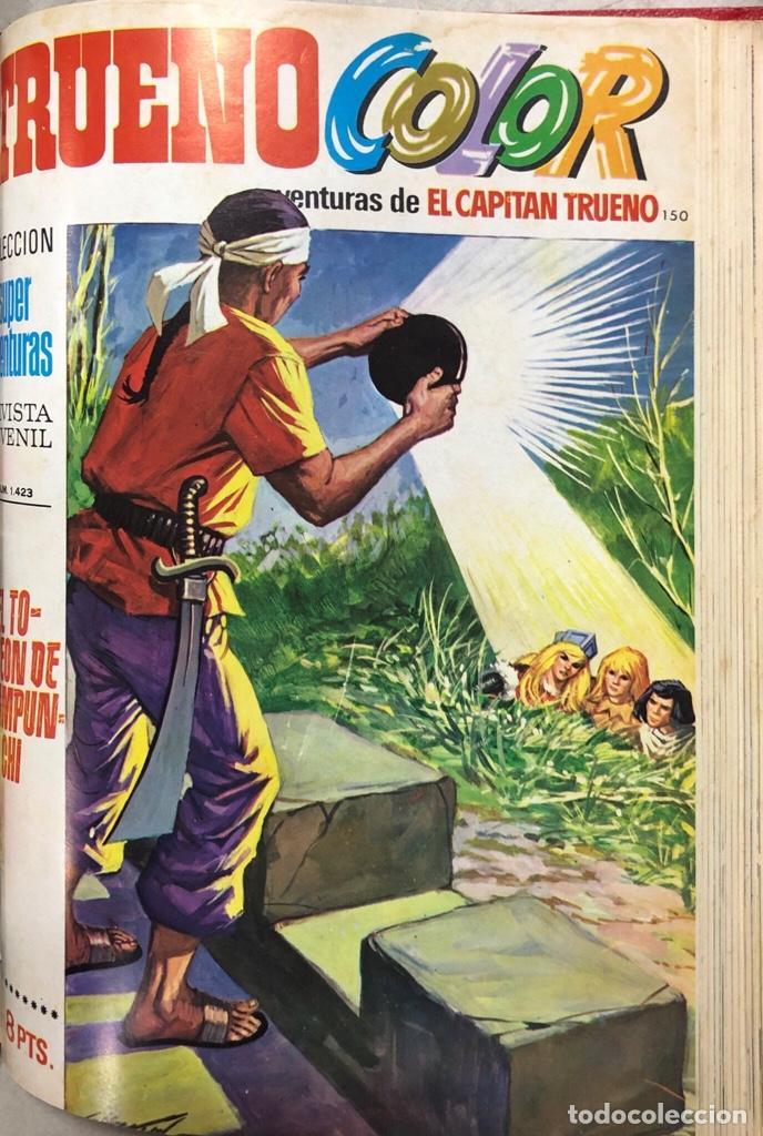 Tebeos: CAPITAN TRUENO. REVISTA JUVENIL. BRUGUERA. LOTE DE 23 EJEMPLARES. ENCUADERNADO. AÑO IV. LEER - Foto 14 - 169287652