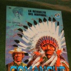 Tebeos: COMANCHE - LA REVUELTA DEL HAMBRE - JET N.10 ED.BRUGUERA 1982. Lote 169300548